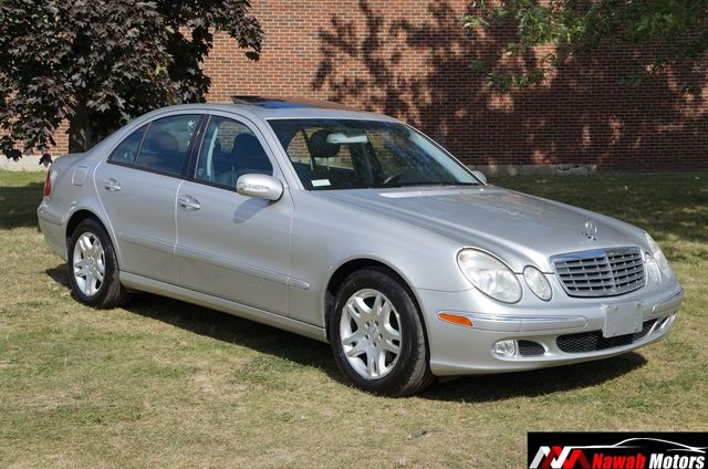 2003 mercedes benz e class e class e320 low km silver for Enterprise mercedes benz