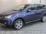 2009 Mitsubishi Outlander 4WD XLS w/ SUNROOF! LEATHER! 7-PASS! 4x4 in Guelph, Ontario