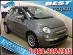 2012 Fiat 500 Lounge Edition w/Navigation, Leather, FUN! in Red Deer, Alberta