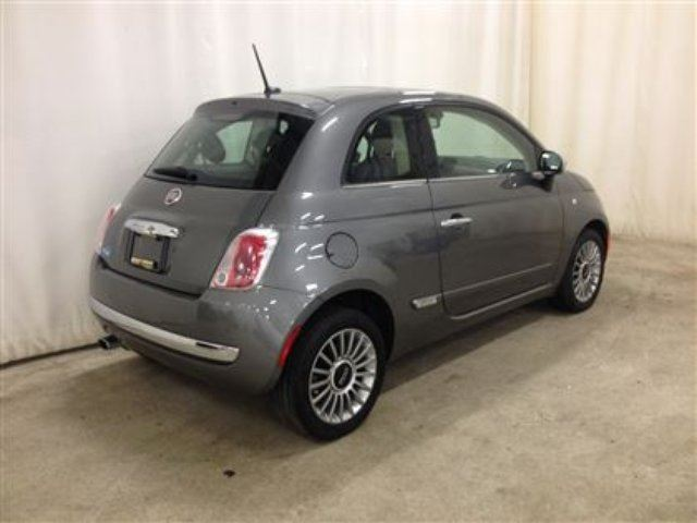 2012 fiat 500 lounge edition w navigation leather fun red deer alberta used car for sale. Black Bedroom Furniture Sets. Home Design Ideas