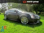 2012 Cadillac CTS V Coupe Brembos/Chrome Wheels/Ventilated Seats/55 in Ottawa, Ontario
