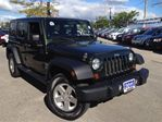 2011 Jeep Wrangler Unlimited ***SPORT***POWER WINDOWS***POWER LOCKS***3 PIEC in Mississauga, Ontario