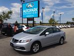 2013 Honda Civic LX / HEATED SEATS!! / CRUISE!! / PWR WINDOWS-LO in Innisfil, Ontario