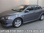 2009 Mitsubishi Lancer AUTOMATIC! SPOILER! ALLOYS! Sedan in Guelph, Ontario