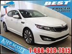 2013 Kia Optima SX Turbo, NAV, Leather, Panoramic Sunroof in Red Deer, Alberta