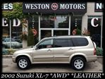 2002 Suzuki XL7 AWD*LEATHER*SUNROOF*AUTO*7PASS*CERT&ETESTED in York, Ontario