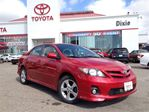 2011 Toyota Corolla S in Mississauga, Ontario