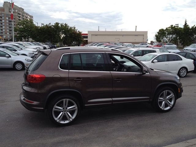 2015 Volkswagen Tiguan Highline R Line North York Ontario Used Car For Sale 1849799