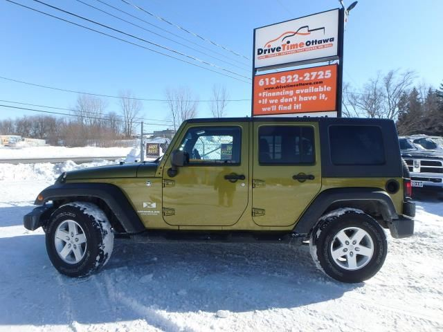 2008 jeep wrangler x unlimited 4dr 4x4 gloucester ontario used car. Cars Review. Best American Auto & Cars Review