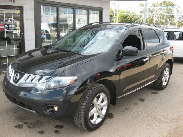 2009 Nissan Murano S 4dr All Wheel Drive Black Family