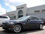 2011 BMW 5 Series XDRIVE NAV HEAD-UP 3D CAM LEATHER SUNROOF ALL HTD SEATS in Thornhill, Ontario