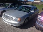 2002 Cadillac DeVille 4DR SEDAN, LOADED, LEATHER, ALLOYS, LOW MILEAGE, in Welland, Ontario
