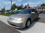 2001 Honda Civic  LX-G FULLY LOADED 1YR WARRANTY INCLUDED in Scarborough, Ontario