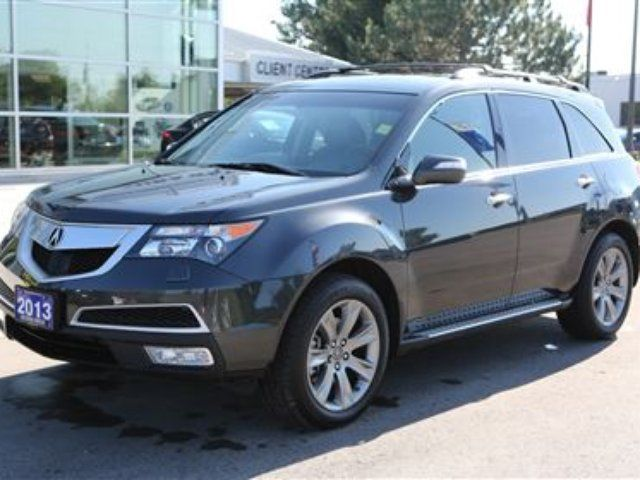 2013 acura mdx elite package london ontario used car. Black Bedroom Furniture Sets. Home Design Ideas