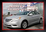 2013 Hyundai Sonata GL, automatique in Saint-Jean-Sur-Richelieu, Quebec