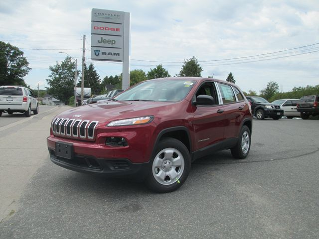 2015 Jeep Cherokee Sport Red Armstrong Dodge New
