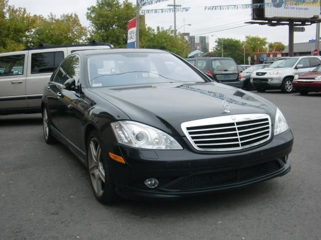 2008 mercedes benz s class 4 7l black stars car sales for Mercedes benz s500 2008