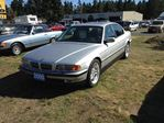 2000 BMW 7 Series 740 i in Parksville, British Columbia