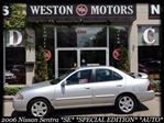 2006 Nissan Sentra *SE*SPECIAL EDITION*AUTOMATIC*LOW KMS*FULLY LOADED*ALLOY WHEELS* in York, Ontario