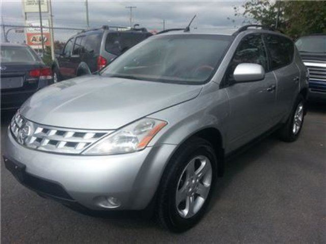2003 nissan murano sl awd with sunroof maple ridge. Black Bedroom Furniture Sets. Home Design Ideas