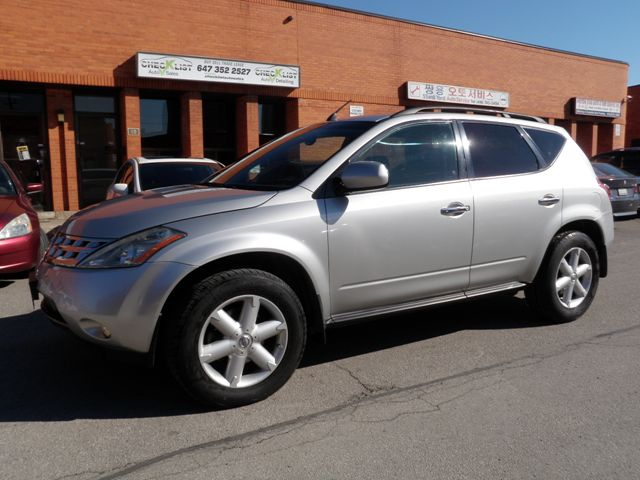 2003 nissan murano se awd silver check list auto sales. Black Bedroom Furniture Sets. Home Design Ideas