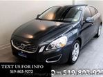 2013 Volvo S60 T5 PREMIUM! AUTOMATIC! SUNROOF! LEATHER! ALLOYS! S in Guelph, Ontario