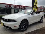 2011 Ford Mustang GT, Manual Convertible, Leather, Heated Seats, in Burlington, Ontario