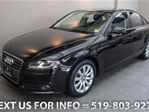 2011 Audi A4 2.0T AWD QUATTRO 6-SPD MANUAL! SUNROOF! LEATHER! S in Guelph, Ontario