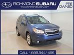 2014 Subaru Forester 2.5i Convenience Package in Richmond, British Columbia