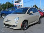 2012 Fiat 500 Sport( 41 417km, auto, mags, cruise, cuir, aile in Laval, Quebec