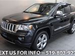 2012 Jeep Grand Cherokee 4WD OVERLAND w/ NAVI! PANO SUNROOF! LEATHER! 4x4 S in Guelph, Ontario