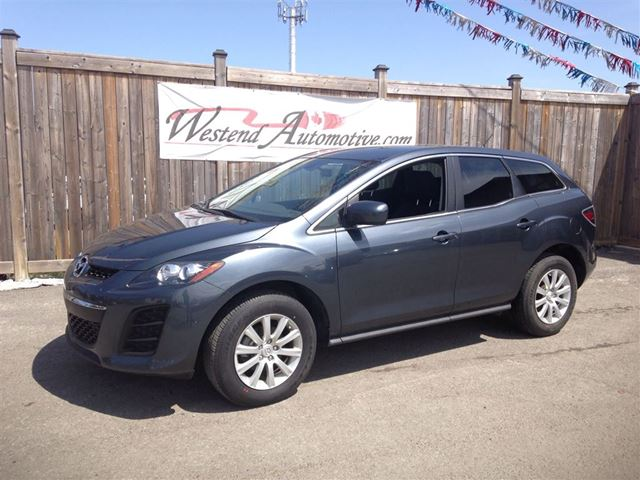 2011 Mazda Cx 7 Gx Grey Westend Automotive Wheels Ca