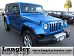 2014 Jeep Wrangler Unlimited Sahara w/ Leather Interior & Navigati in Surrey, British Columbia