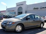 2008 Honda Civic  DX-G PWR OPTS A/C CD/MP3 PLAYER CRUISE CTRL CLEAN CARPROOF in Thornhill, Ontario