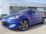 2012 Hyundai Veloster 6spd Tech Package w/NAV,rear cam,panoramic roof,heated seats,leather in Cambridge, Ontario