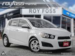 2012 Chevrolet Sonic LT in Thornhill, Ontario