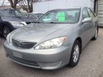 2006 Toyota Camry LE  Roomy, comfortable, and practical in Scarborough, Ontario