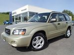 2003 Subaru Forester XS 2.5 w/leather in Kitchener, Ontario