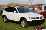 2005 BMW X3 2.5i AWD Sunroof Leather in Brampton, Ontario