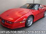 1989 Chevrolet Corvette 2-DR COUPE w/ TARGA TOP! 6-SPD MANUAL! LTHR! ALLOY in Guelph, Ontario