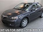 2007 Mazda MAZDA3 SEDAN w/ 5-SPD MANUAL TRANS! A/C! Sedan in Guelph, Ontario