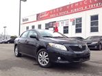 2010 Toyota Corolla LE WITH SUNROOF PACKAGE, TOYOTA CERTIFIED in Bolton, Ontario