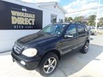 2004 Mercedes-Benz M-Class ML500 5.0 L V8 LUXURY SEDAN w/ LEATHER & SUNROOF in Halifax, Nova Scotia