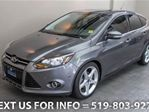 2012 Ford Focus TITANIUM w/ SUNROOF! LEATHER! PARKING TECH. PKG!! in Guelph, Ontario
