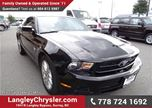 2011 Ford Mustang w/  Power Accessories & Accident Free in Surrey, British Columbia