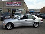 2006 Mercedes-Benz C-Class C230 LEATHER SUNROOF AUTOMATIC DEALER SERVICED in North York, Ontario