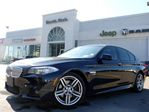 2012 BMW 550i M-SPORT PKG XDRIVE NAV HEAD-UP 3D CAM LEATHER SUNROOF in Thornhill, Ontario