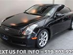 2005 Infiniti G35 V6 COUPE w/ SUNROOF! LEATHER! AUTO! ALLOYS! Coupe in Guelph, Ontario