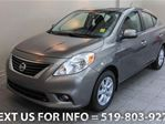 2012 Nissan Versa SL AUTOMATIC! NAVIGATION! CAMERA! ALLOYS! Sedan in Guelph, Ontario