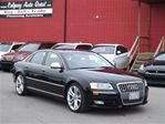 2009 Audi S8 5.2L, AWD/NAVIGATION/B.CAM/LEATHER/ROOF in Calgary, Alberta